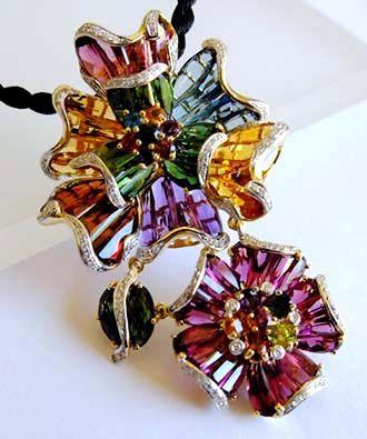 0e1e45cd84efd Coming Soon... a rare Bellarri Mademoiselle Collection pendant ...
