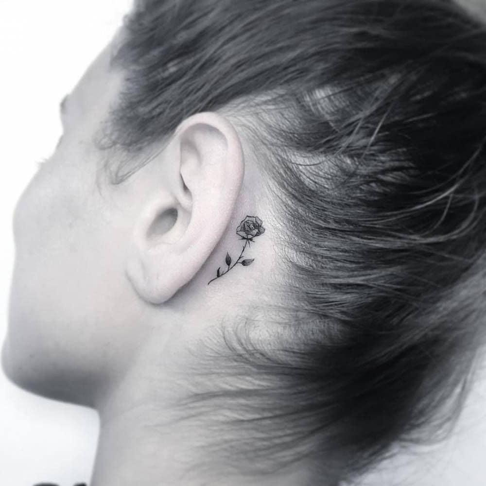 Smalltattoos Minitattoos Minimaltattoos Tattoo Tatouage Tatuaje Image Dimensions 1080 X 1080 Small Tattoos Behind Ear Tattoos Tattoos