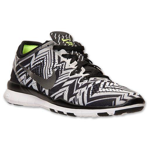 d756b489461c Women s Nike Free 5.0 TR Fit 5 Print Training Shoes