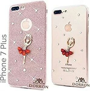 c1bdf50e6f1fb8 Girls iPhone 7Plus Rose Gold - New Luxury Dancing Girl Bling Shining  Sparkling Crystal Diamond Impression Rhinestones Glitter Back Removable  Skin Beautiful ...