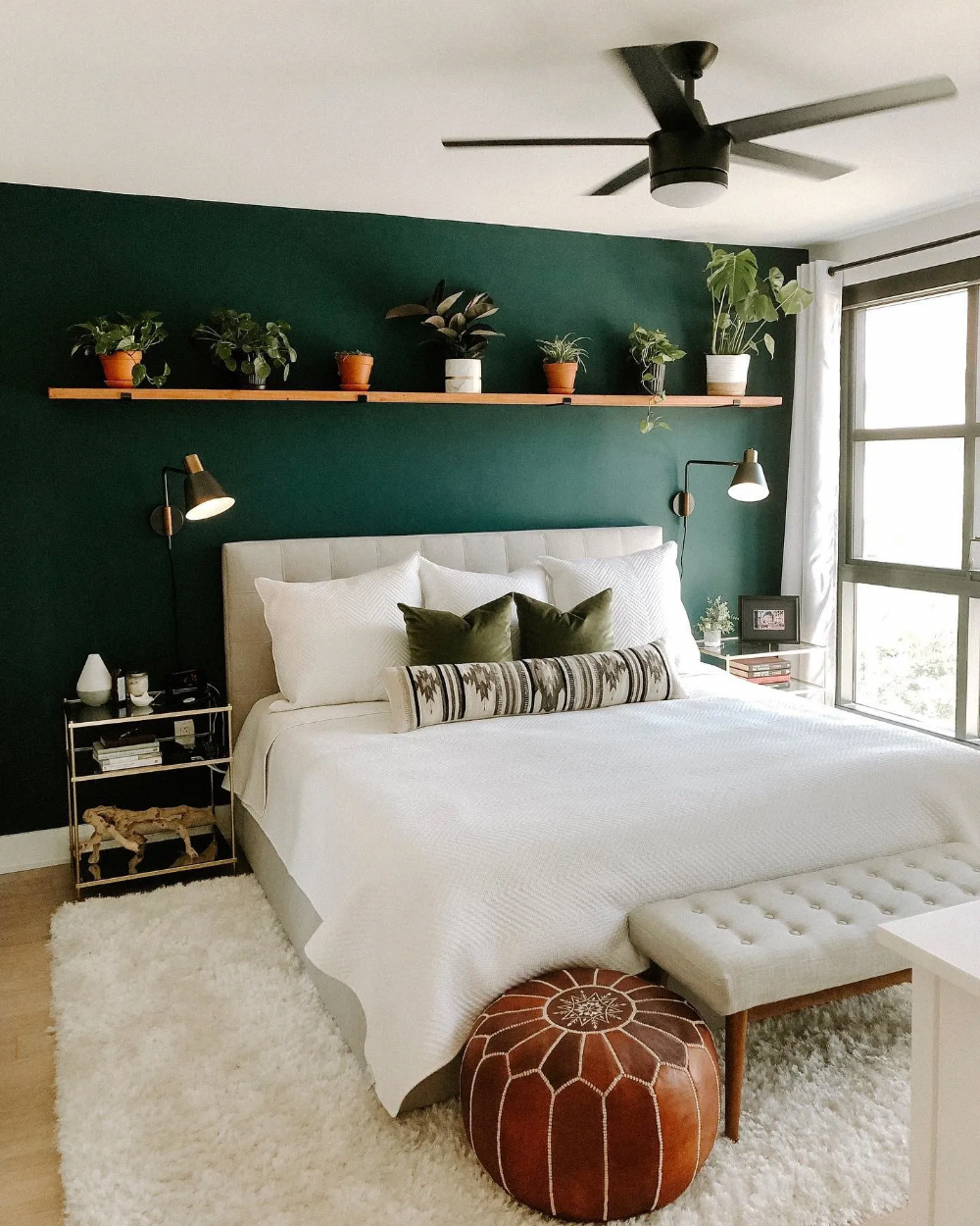 The Best Colors For Decorating A Bedroom In 2020 Green Bedroom Walls Bedroom Trends Bedroom Inspirations