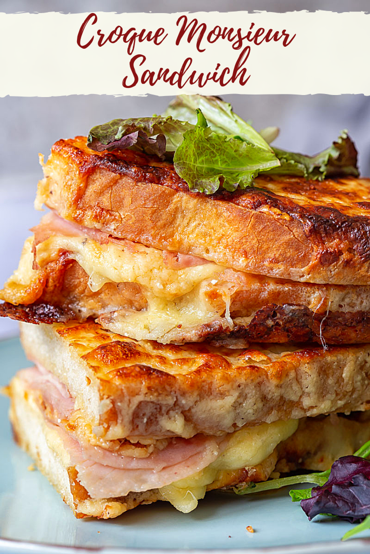 Classic Croque Monsieur Sandwich
