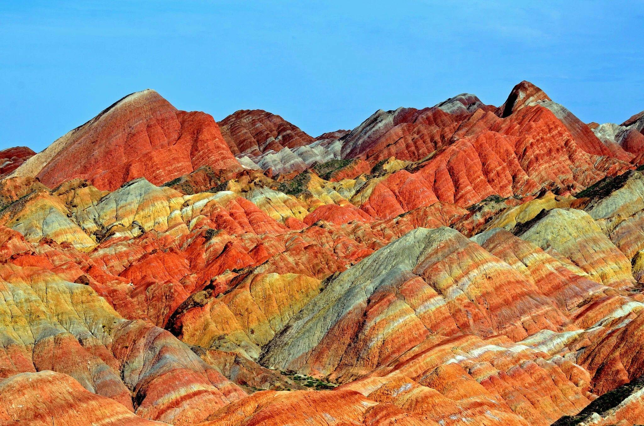 China rocks, mountains