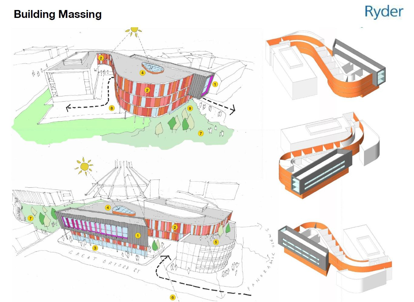 Revit Massing Model  Conceptualarchitecturalmodels Pinned