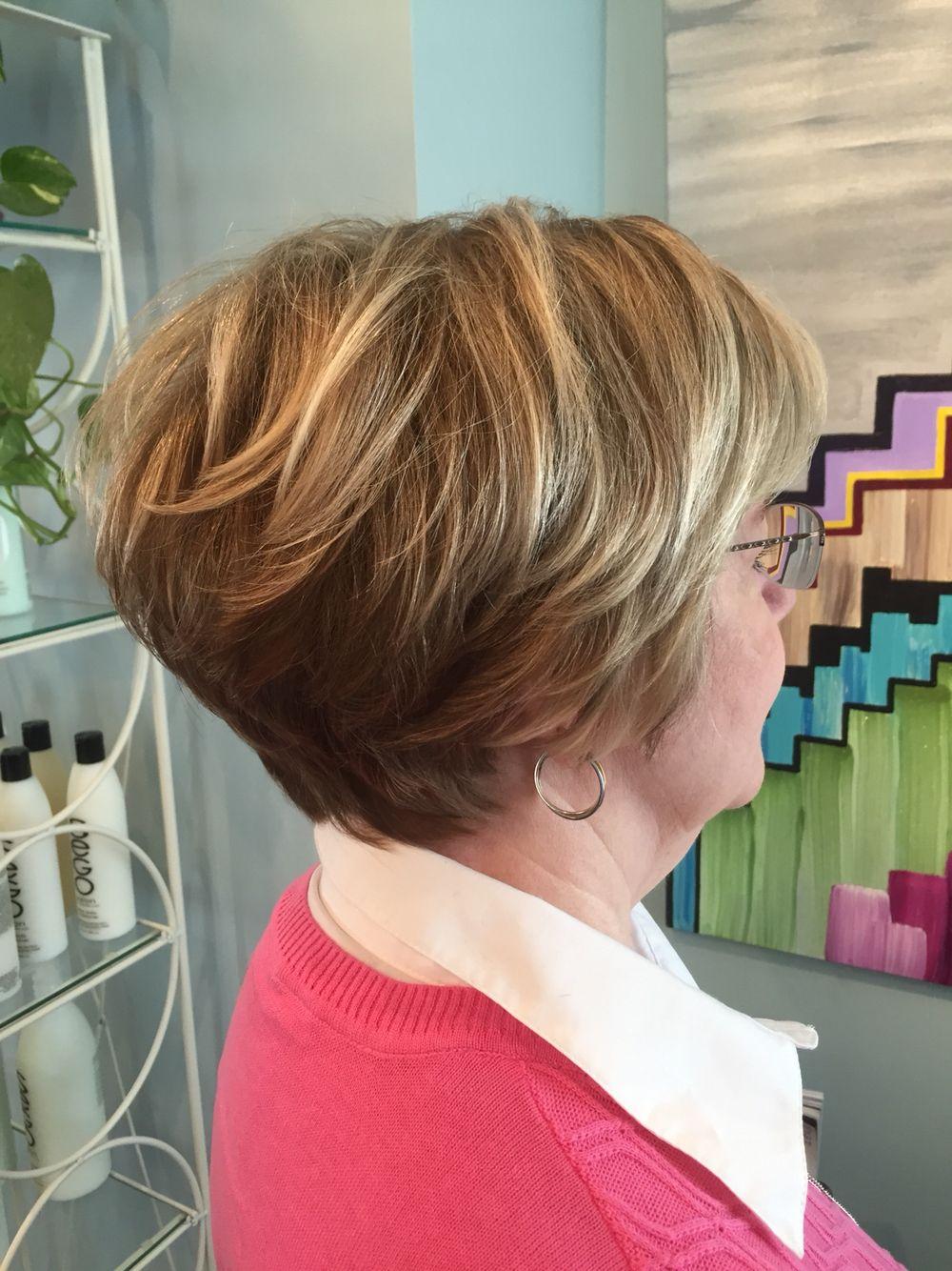 short hair cut with stack by devon atlanta, ga | hair by