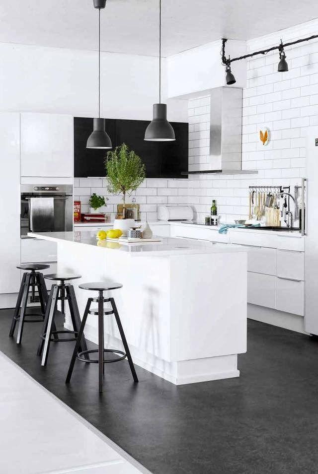 Cucina Industriale Ikea.Cucina Grigia Ikea In Stile Industriale Ikea Grey Kitchen