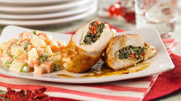 recipe: ensalada rusa con pollo al horno [14]