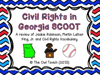 Civil Rights: Civil Rights Heroes from Georgia SCOOT ...