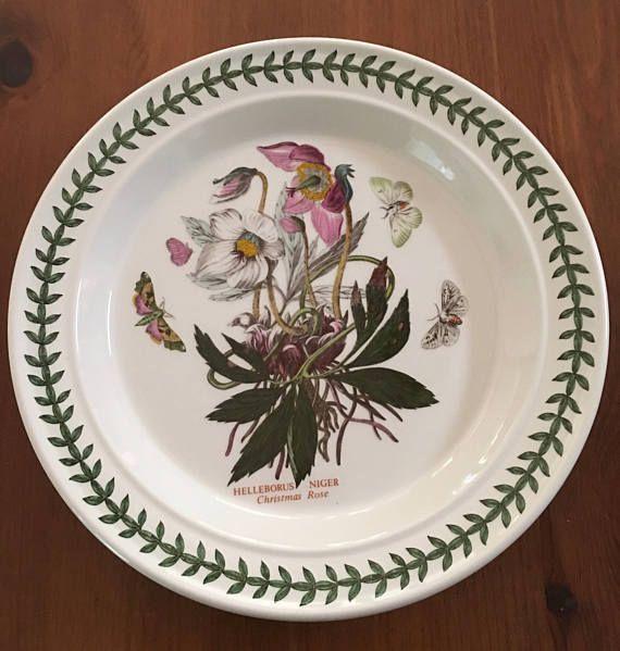 Vintage Portmeirion Dinner Plate Botanic Garden Made in & Vintage Portmeirion Dinner Plate Botanic Garden Made in   1 Good ...