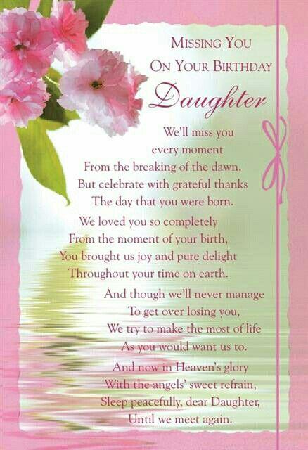Missing you on your birthday | Birthdays - Family | Birthday in