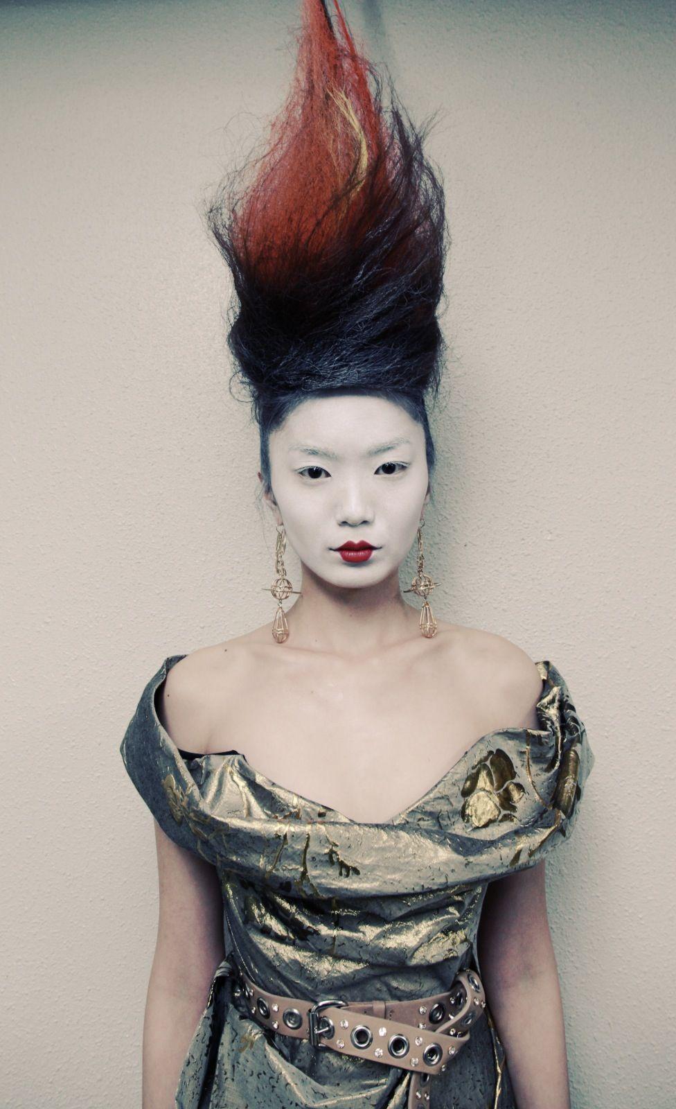 Catwalk by tigi collaborates on semele walk wardrobe and styling by