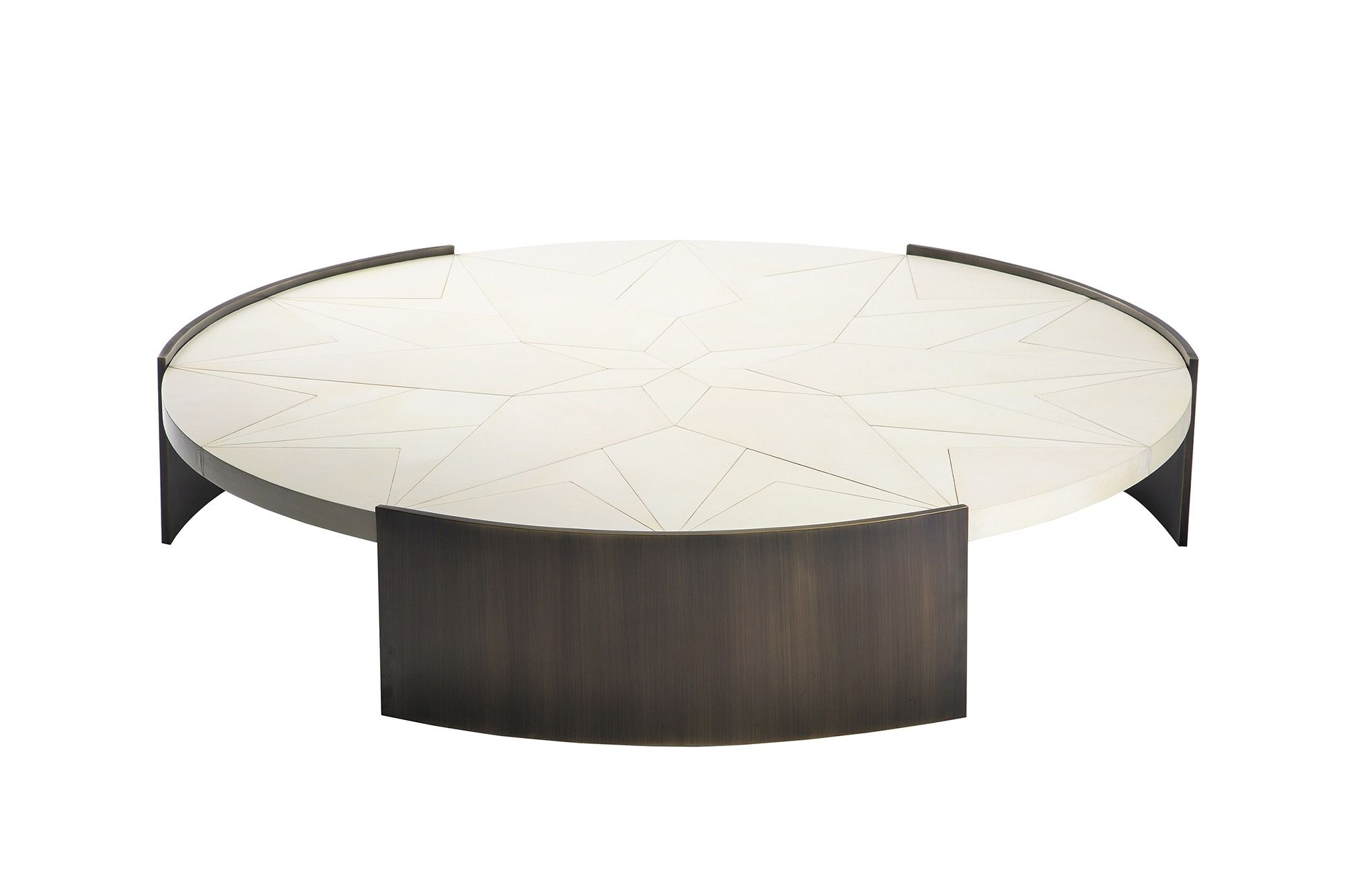 Buy Summitridge Parchment Table By Marmol Radziner Made To Order Designer Furniture From Deri Round Coffee Table Modern Marble Coffee Table Side Coffee Table [ 1333 x 2000 Pixel ]