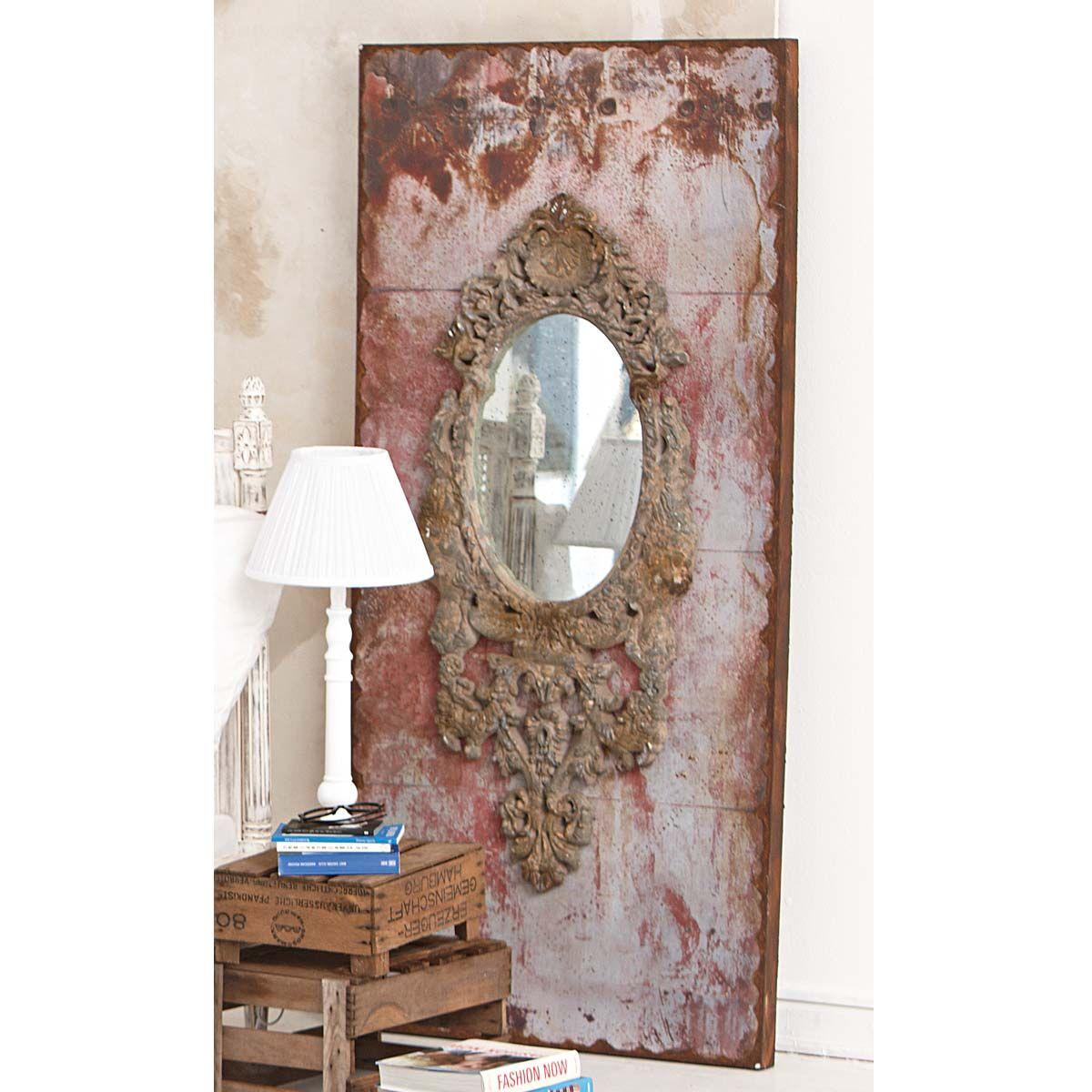 Vintage Spiegel Dekoration Und Impressionen