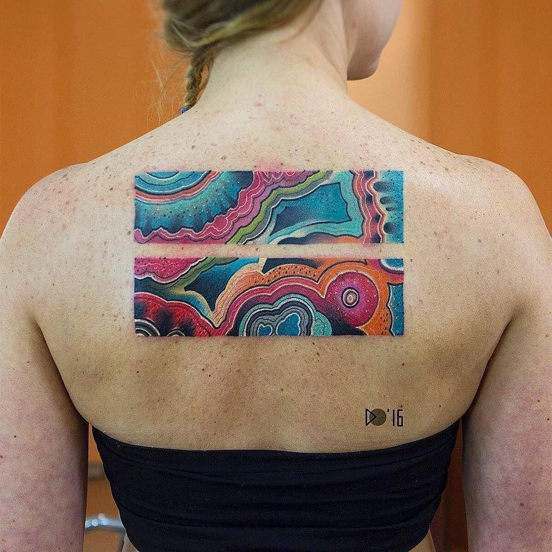 Abstract tattoo by alijika_tattoo in krasnoyarsk russia