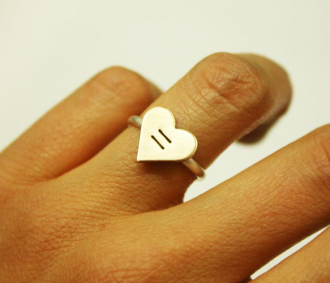 Equality Heart Ring