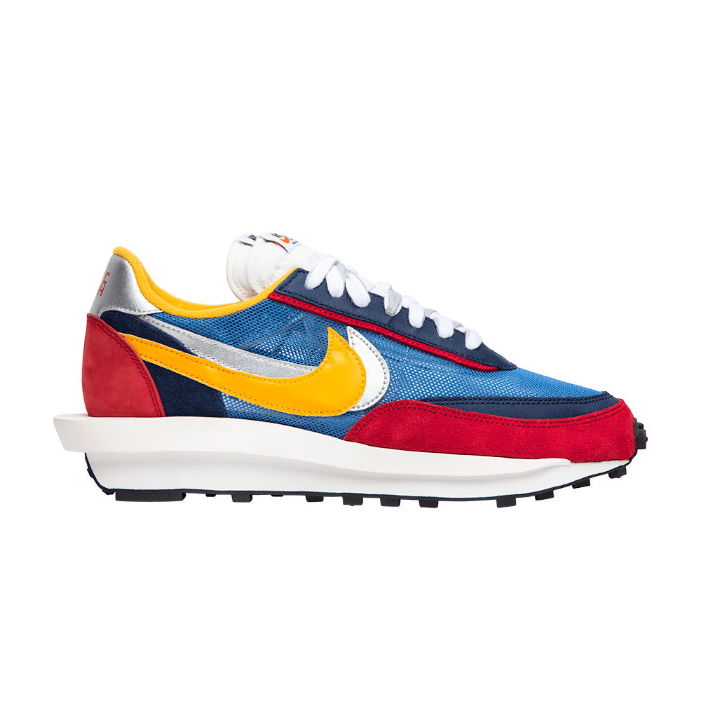 Sacai X Ldv Waffle Varsity Blue Nike Bv0073 400 Goat Nike Runners Nike Waffle Sneakers
