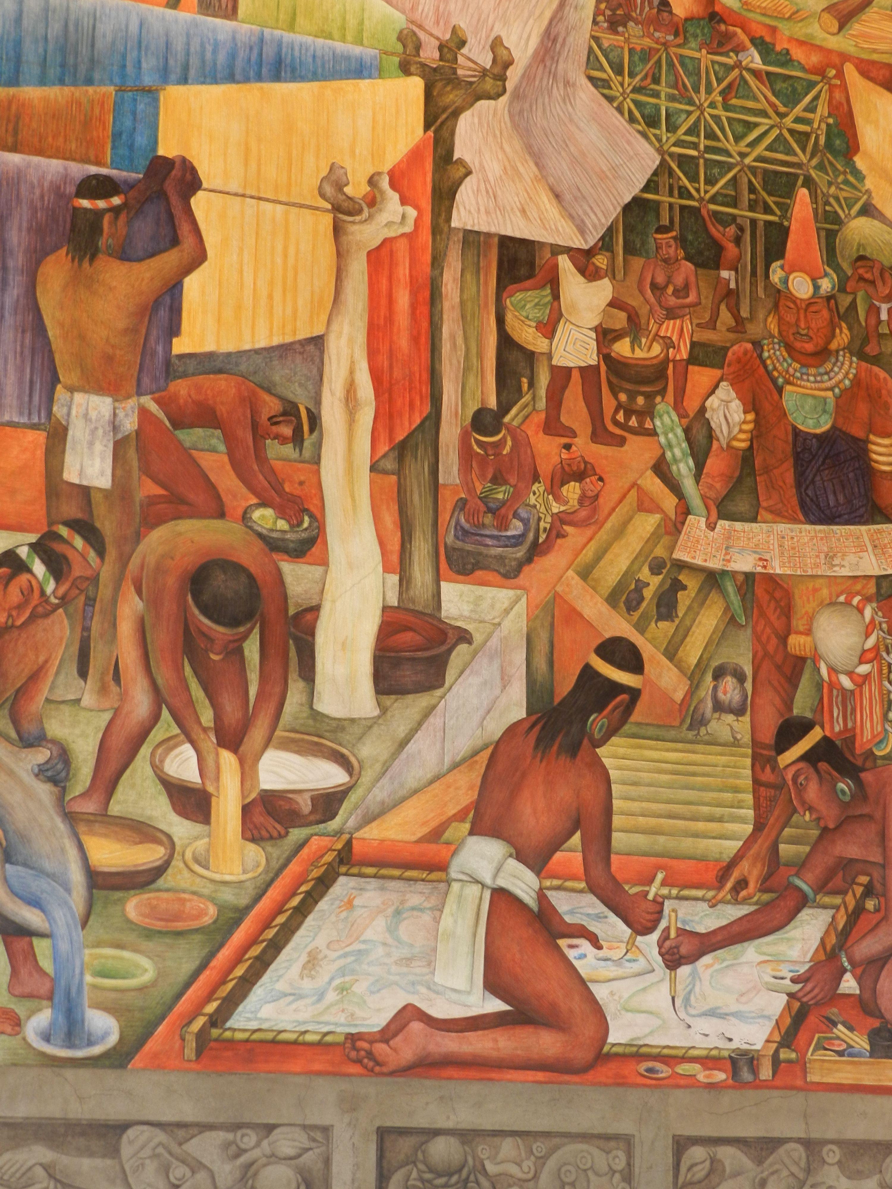 Diego Rivera. Murales en el Palacio Nacional, México