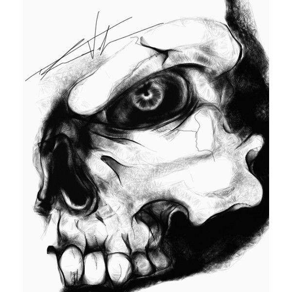 simple skull drawings - 600×600