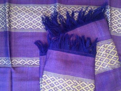 Handmade Ethiopian Scarf - Purple - Hamlin Fistula Ethiopia (Australia)