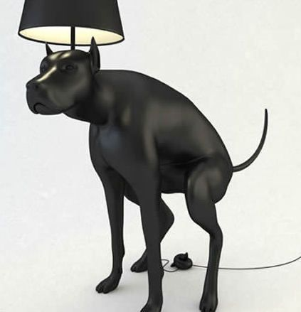 Pooping Dog Lamps Banned
