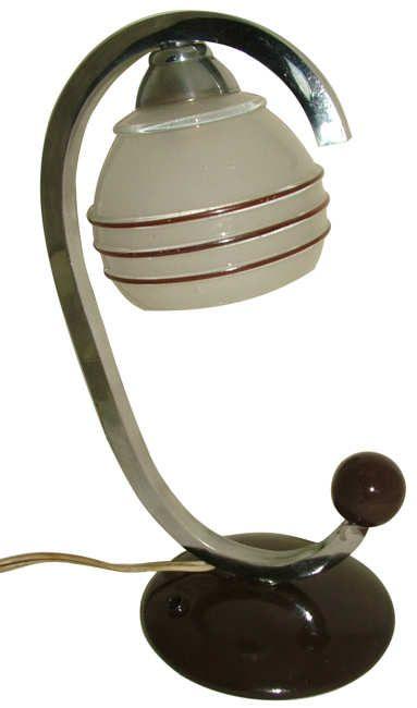1930s Art Deco Table Lamp Lighting Many Art Deco Pinterest