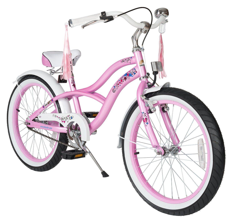 Amazon Com Bikestar 20 Inch 50 8cm Kids Children Bike Bicycle Cruiser Pink Sports Amp Outdoors Kids Bike Kids Bike Sizes Cruiser Bicycle