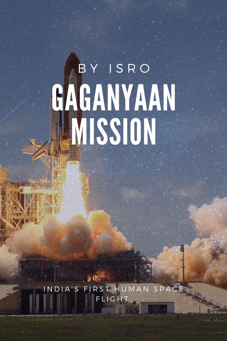 GAGANYAAN (HUMAN SPACE FLIGHT)   Space facts, Indian space ...