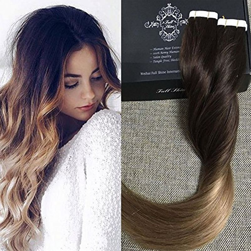 Skin weft hair extensions full shine balayage ombre color 2 ombre skin weft hair extensions full shine balayage ombre color 2 ombre color 6 fading to color pmusecretfo Gallery