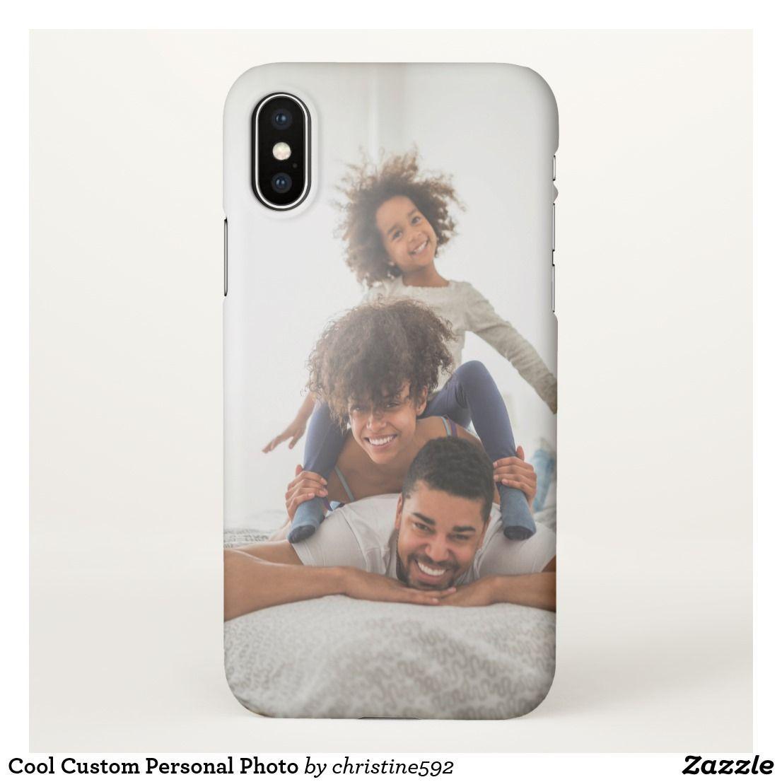 Cool Custom Personal Photo Iphone X Case Iphone Datenubertragung Netzteile