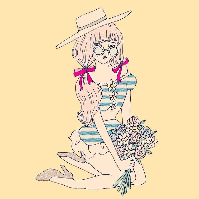芸術ファッション, イラストイラスト, Years After Closet, Today Sillustration, Instagramtoday S, Haru Images, Girl Cute, Fashion Girl, Fashion Illust