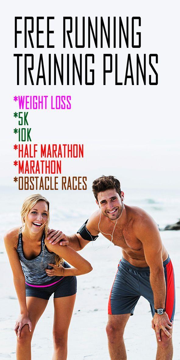 Free Printable Running Training Plans For Weight Loss 10ks 5ks