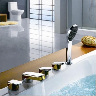 Robinet de bassin baignoire salle de bain coffret de 5 pièce