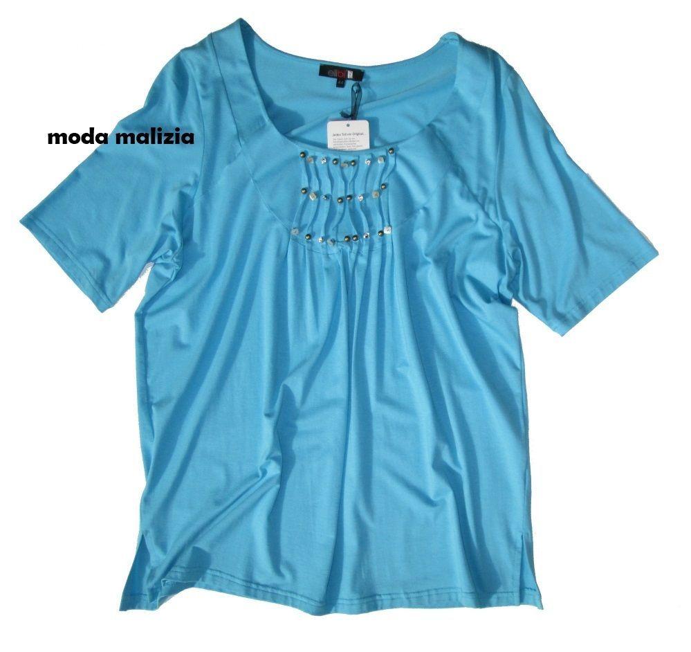 t-shirt taglie forti donna 903652 ellbi over size taglie 50 52 54 56 58 60 62