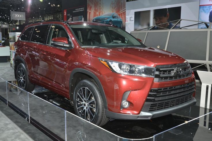 Cool Toyota 2017 a face lifted version of its Highlander
