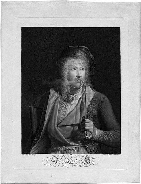 Portrait du peintre Jacques-Luc Barbier-Walbonne