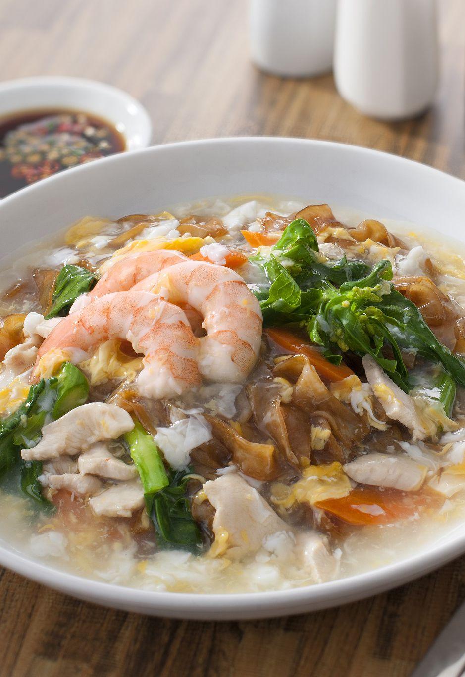 Ladna Flat Noodles Recipes Flat Noodles Recipe Asian Recipes