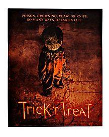 Trick 'r Treat - Spirithalloween.com   Fleece blanket