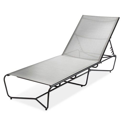 outdoor chaise lounge gray modern by dwell magazine chaise