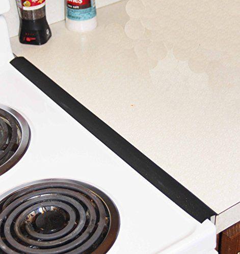 The Best Slim Oven Trim Black Countertop Gap Cover Oven Gap Seal