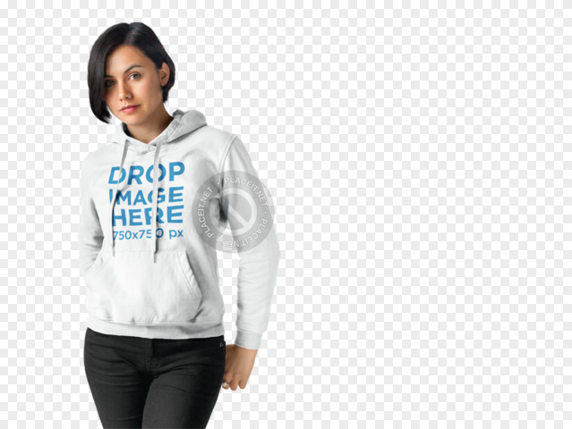 Download Placeit Hoodie Mockup Of An Urban Style Woman Urban Fashion Women Hoodie Mockup Urban Fashion