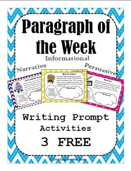 Paragraph Of The Week Paragraph Writing Practice With Writing