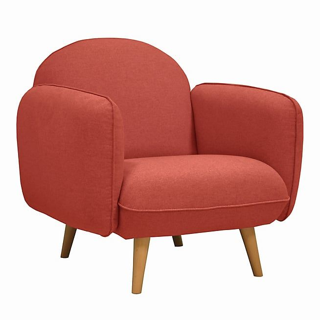 gala fauteuil en tissu framboise  fauteuil fauteuil