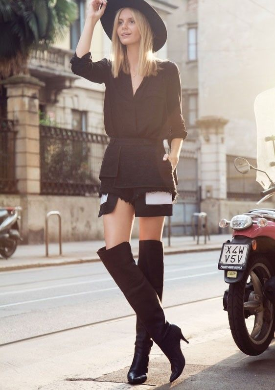 High Boots Street Style