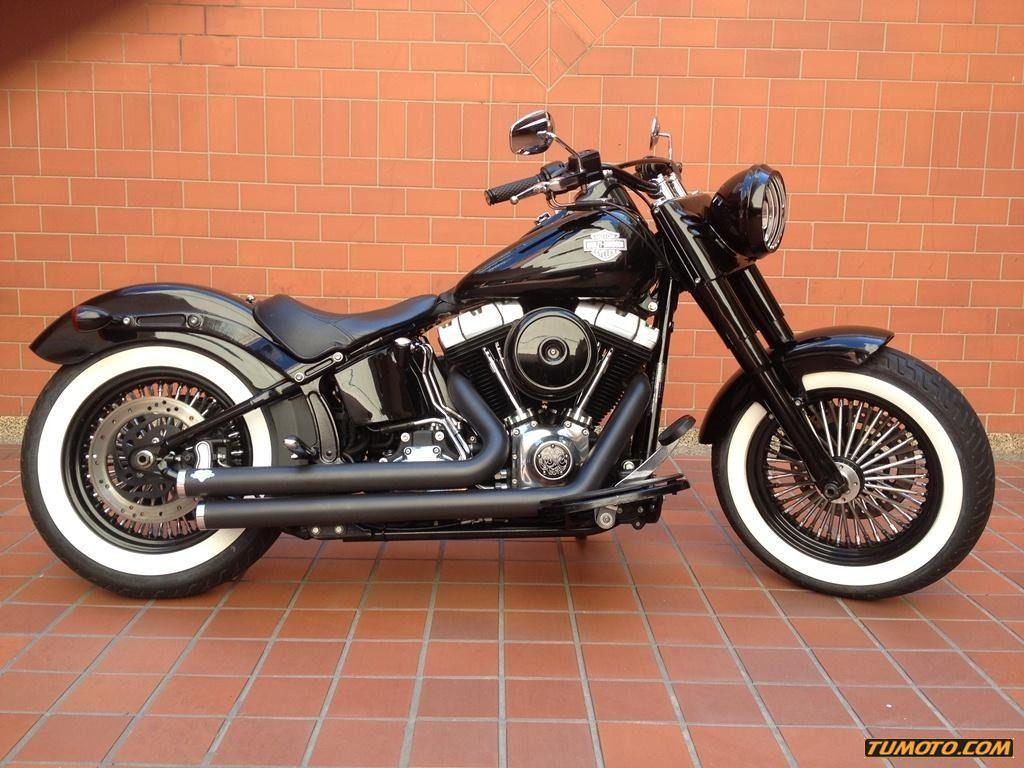 Harley Davidson Softail Slim 501 Cc O Más A±o Custom Chopper