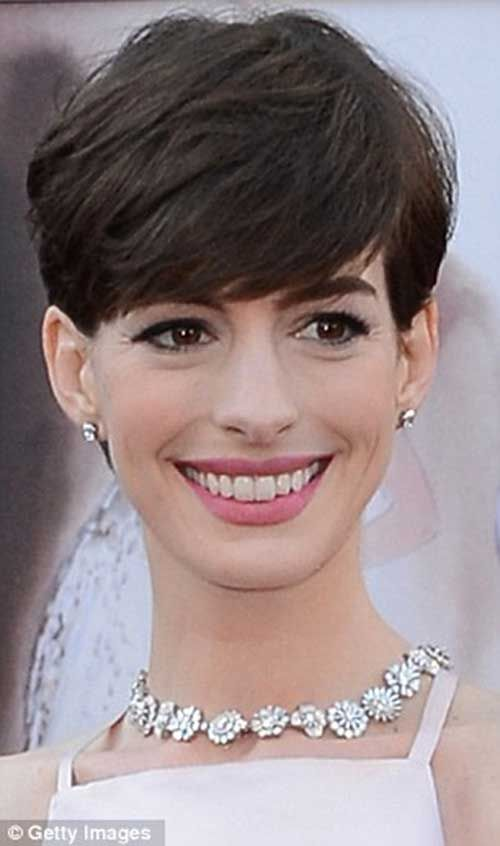 20 best anne hathaway pixie cuts anne hathaway pixie pixie cut 20 best anne hathaway pixie cuts winobraniefo Images