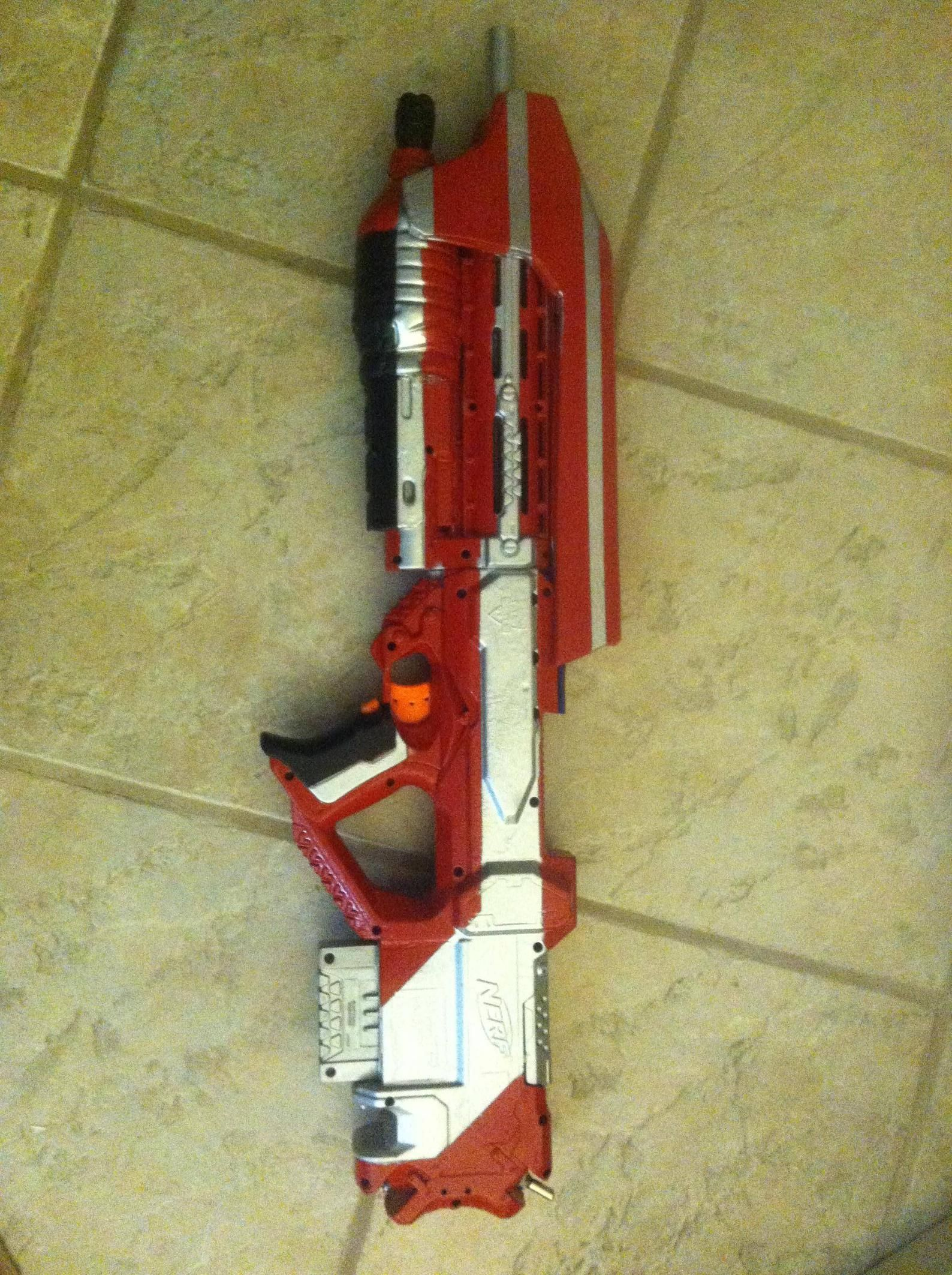 Halo AR nerf replica- I want this so badly!