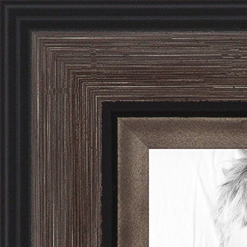 ArtToFrames 24x34 inch Grey and Black Frame Picture Frame ...
