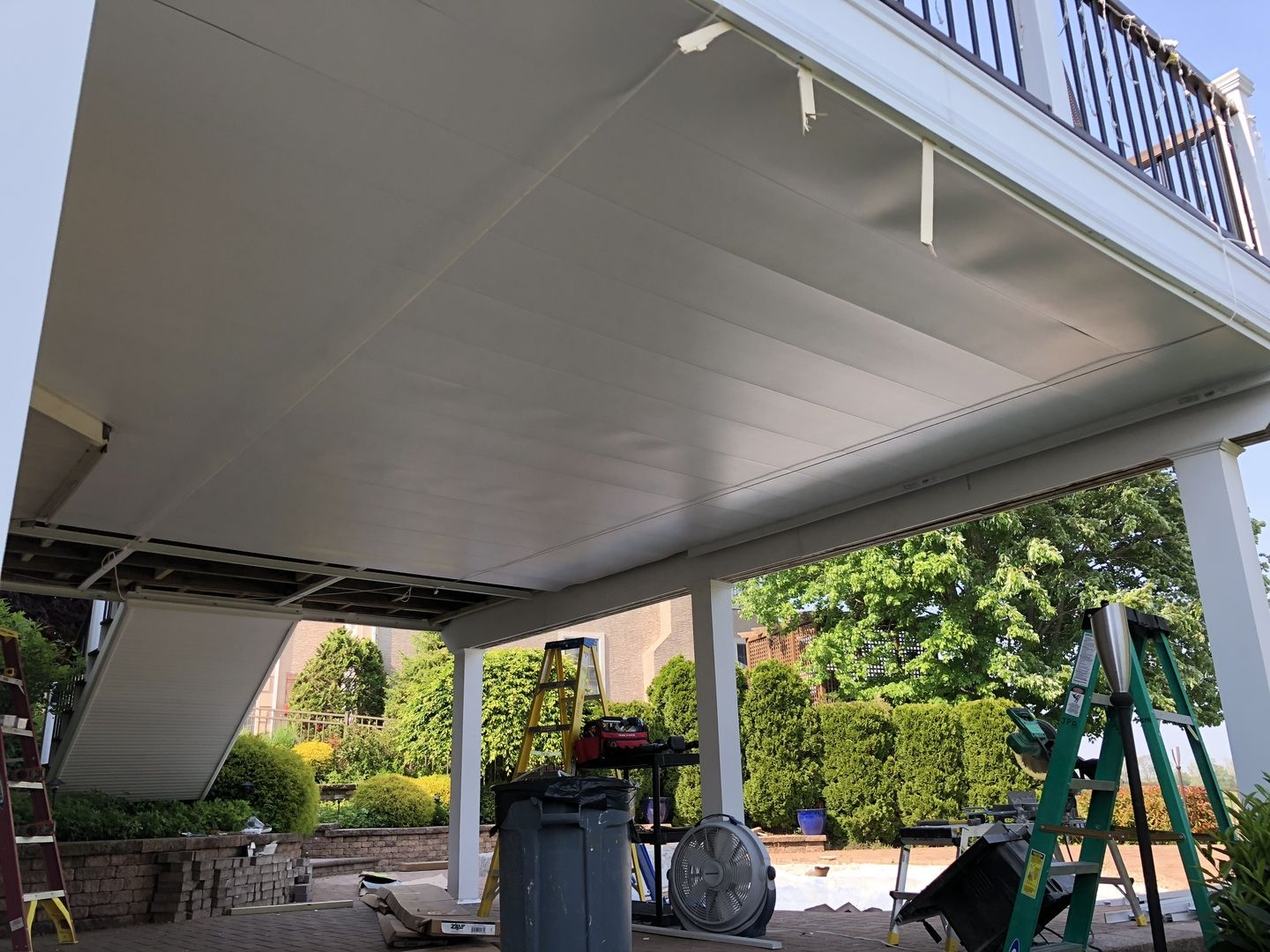 Underdeck Panel By Zip Up Building A Deck Deck Ceiling Ideas Under Deck Ceiling