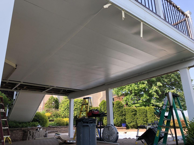 Underdeck Panel By Zip Up Building A Deck Deck Ceiling Ideas