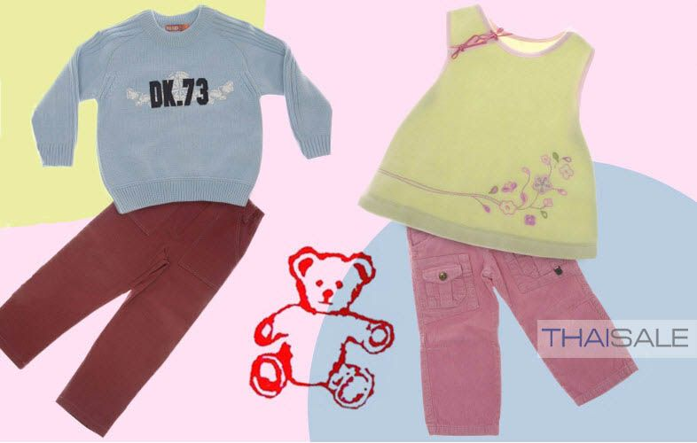 Nice Kids brand (Chic & Stylish Apparel for Your Little One) @ www.thaisale.co.th